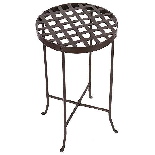 Achla Designs Flowers Plant Stand, 25-in H