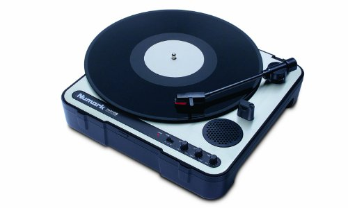 Numark PT 01USB Portable Vinyl-Archiving Turntable