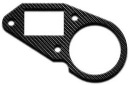 jollify carbone Carbone Compteur Fa/çade Cover pour Aprilia Tuono 125/2003 2005/jcc009/C