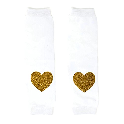 Rush-Dance-Valentines-Day-Love-Hearts-Baby-Toddler-Leg-Warmers-One-Size-White-with-Gold-Hearts