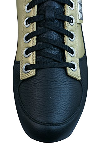 Puma Biker 5000 M2 Herren-Leder-Sneaker-Gold-47