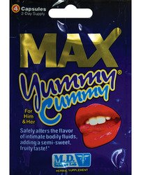 Max Yummy Cummy   4 Ct Packet