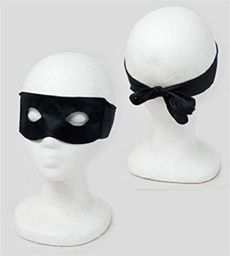 Halloween Robber Costumes (Black Eye Mask)