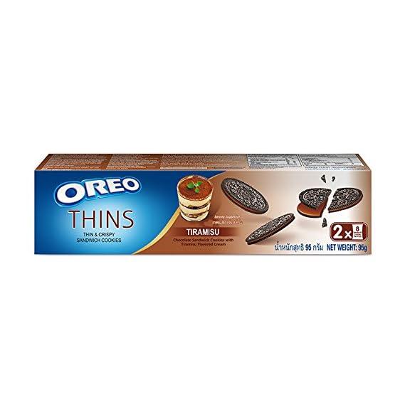 Oreo Thins Tiramisu Sandwich Cookies, 95 g