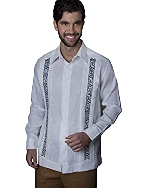 Mexican Shirt Wedding. Exquisite Linen and Embroidery