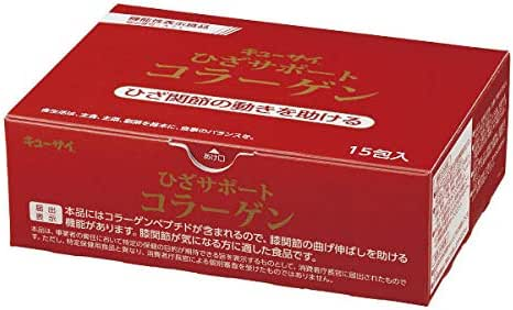 QUsai Knee Support Collagen 1 Box (15 Packs) (Functional Indication Food)