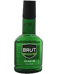 Brut Splash-on Classic Scent for Men, 3.5 Oz