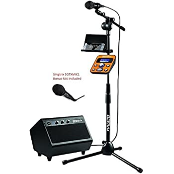 Amazon Com Akai Ks808 Cd Amp G Mp3 Amp G Karaoke System With Usb