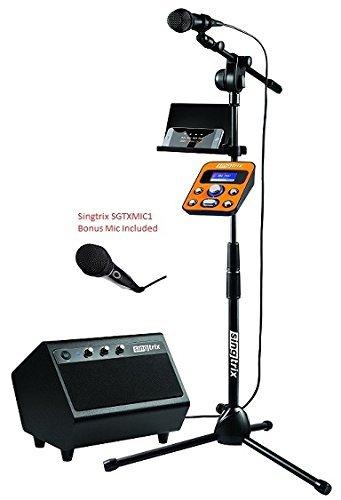 e Premium Edition Home Karaoke System - #SGTX1 +BONUS MIC (Edition Karaoke)