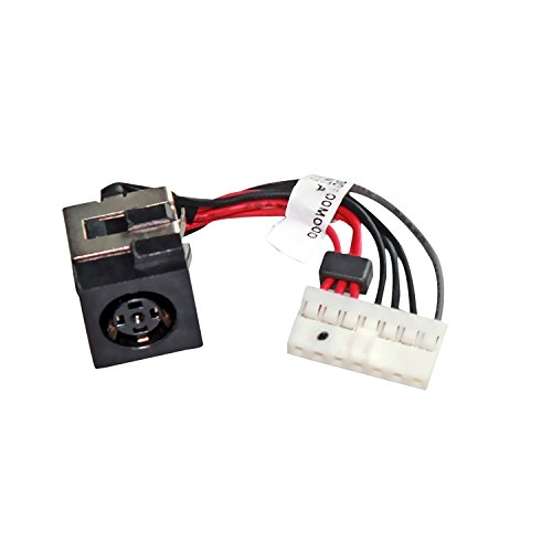 GinTai AC DC Power Jack Harness Plug In Cable Replacement For Dell Alienware 14 R1 Laptop 5D8TK 05D8TK M14X R3 R4 DC30100M000 P39G