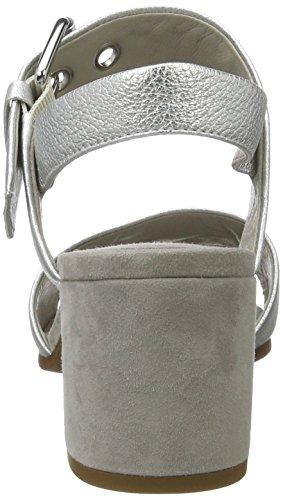 Kennel und Schmenger Schuhmanufaktur Nelli - Sandalias Mujer Silber (light Silver/light/silver)