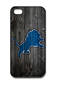 Detroit Lions Wood For SamSung Galaxy S5 Mini Phone Case Cover Hard Shell(pc Material)