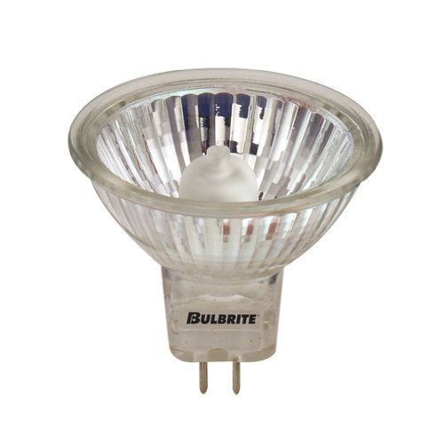 Bulbrite BAB/24 20 Watt Dimmable Halogen MR16 Lensed GU5.3 Base Clear 50 Ct