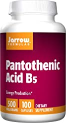 Jarrow Formulas Pantothenic Acid B5 for ...