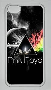 English Rock Band Pink Floyd Custom PC Transparent Case for iPhone 5C