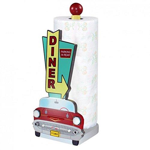 Chevrolet Bel Air Küchenrollenhalter - Bel Air Papierrollenhalter Diner Rollenständer Chevy Rollenhalter