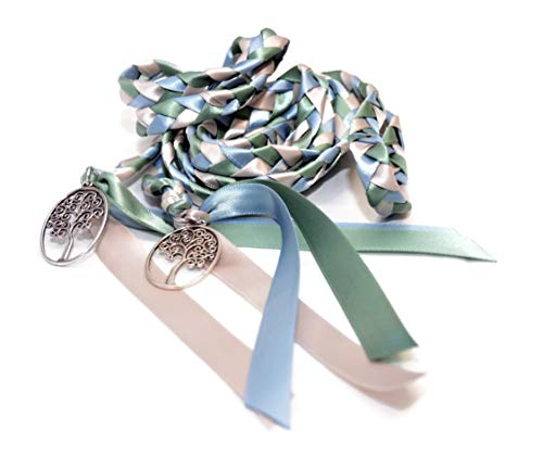 Divinity Braid Element Tree of Life Wedding Handfasting Cord #Wedding #WeddingCeremony #DivinityBraid #Celtic #Handfasting #HandfastingCord #CelticWedding #CelticKnot
