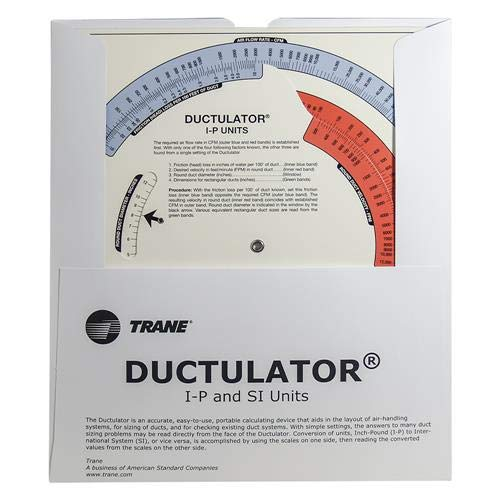Air Duct Calculator / Ductulator with Sleeve