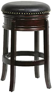Amazon Com Boraam 43829 Hamilton Bar Height Swivel Stool