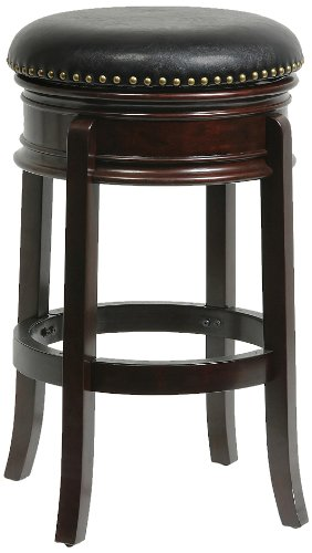 Bar Stool Swivel Hamilton - Boraam 43829 Hamilton Swivel Stool, 29-Inch, Cappuccino