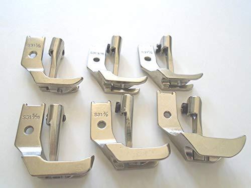 NGOSEW Juki DNU-241, DNU-1541,LU-562,LU-563 Sewing Machines WELTING Piping Walking Foot Set (Juki Lu 563 Walking Foot Industrial Sewing Machine)