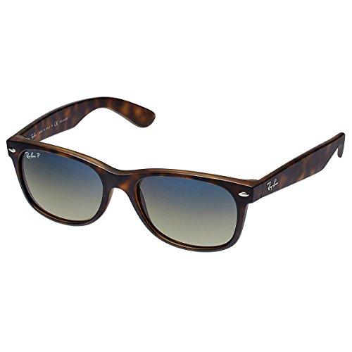 Ray Ban Wayfarer RB2132 Polarized Sunglasses 894/76, Havana/Blue-Green - Wayfarer 76 Polarized New Ban Rb2132 Ray Sunglasses 894