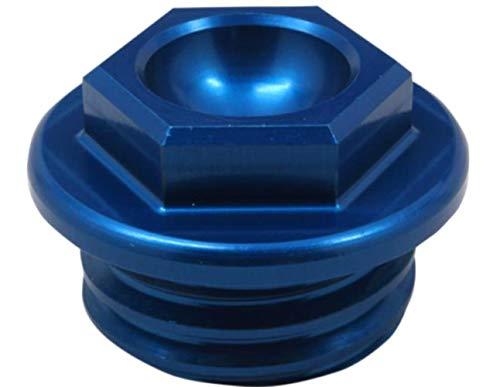 - Works Connection 96-19 KTM 250SX Oil Filler Plug (Blue)