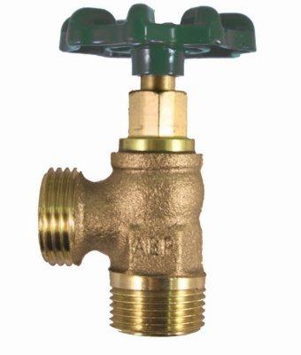 ARROWHEAD BRASS & PLUMBING 223LF 3/4 Male Pipe Thread Boiler Drain