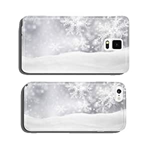 Christmas card, christmas, background, winter, silver, gray cell phone cover case Samsung S5