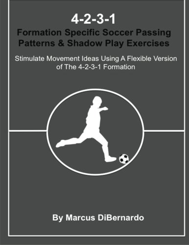 4-2-3-1 Formation Specific Soccer Passing Patterns & Shadow Play Exercises: Stimulate Movement Ideas Using A Flexible Version of The 4-2-3-1 Formation ebook