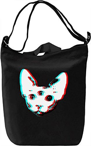 Sphynx kitty Borsa Giornaliera Canvas Canvas Day Bag  100% Premium Cotton Canvas  DTG Printing 