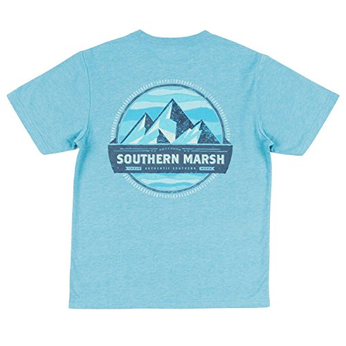 (Southern Marsh Youth Branding Summit SS Tee-Washed Barbados Blue-ys)