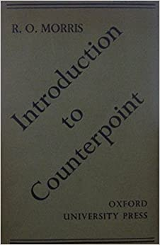 Book Introduction to Counterpoint by Morris Reginald O. (1987-07-23)