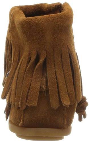 Side Minnetonka Concho Womens Zip Boot Boots Beige Feather qqAUSE