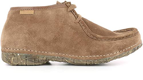 Donna Pelle Wood Lux Pizzi Suede Naturalista angkor El Stivaletto N913 BYq0If
