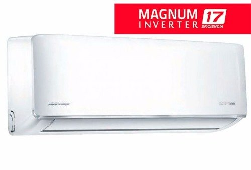 Minisplit Mirage Inverter Magnum 17, Frio y Calor, 1.5 toneladas, 220V, 18,000 BTUs