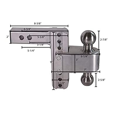 Weigh Safe 180 HITCH LTB6-2 6