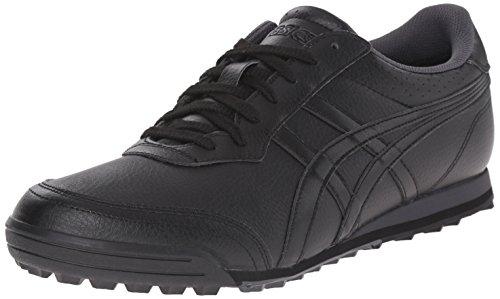 ASICS Men's GEL-Preshot Classic 2 Golf Shoe, Black/Onyx/Dark Grey,10 W US Classic Spikeless Golf Shoe