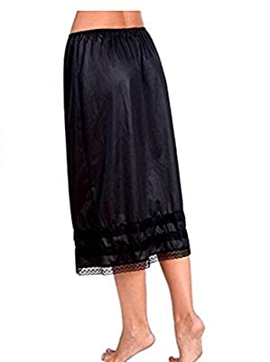 Women's Lingerie Anti-Static Half Slip Snip Skirt