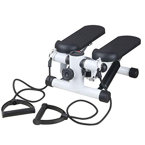 - Techecho Exercise Bike for Home Body Trainer Home Up and Down Mini Stepper, Family Coach Practice Stepper and Training Rope Exercise Equipment