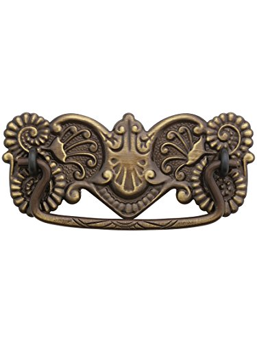 Oak Drawer Pull (Brass American-Oak Drawer Pull - 3