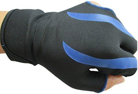 BININBOX® Herren Billard-Handschuh Pool Shooter 3-Finger-Handschuh Handschuhe Nylon Snooker Billard Zubehör