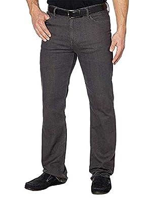 Calvin Klein Men's Straight (Axe Grey, 38x30)
