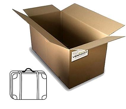 Maletín Envío (DHL) con acústica con cartón 800 x 600 x 400 ...