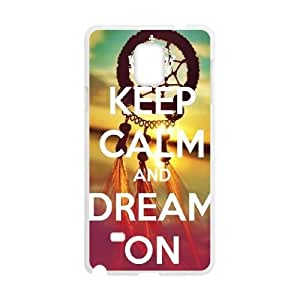 Dream on dreamer Customized Case for Samsung Galaxy Note 4, New Printed Dream on dreamer Case