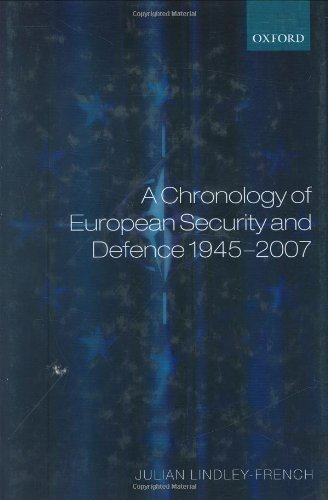 Download A Chronology of European Security and Defence 1945-2006 Pdf