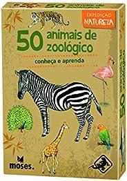 50 Animais de Zoológico - conheça e aprenda - Galápagos Jogos (Moses)