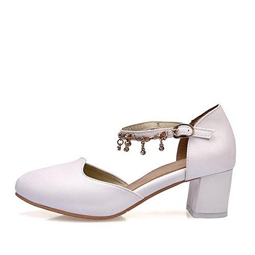 Sandales Femme 5 Blanc Blanc BalaMasa Compensées EU 36 a4dqffw