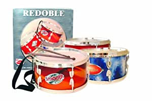 Domenech - Tambor Redoble Cromado 12X23 Cm Caja