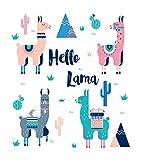 Vooft DIY 5D Diamond Painting Kits Llama Cute Lamas